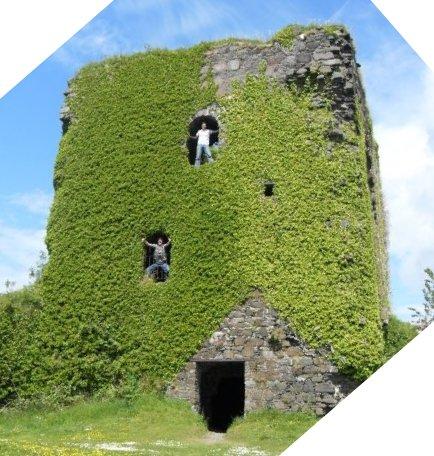 Oban Castle Exterior