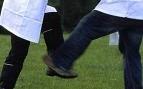 Shin kicking