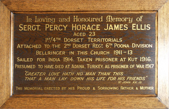 Sgt_Percy_Ellis_memorial