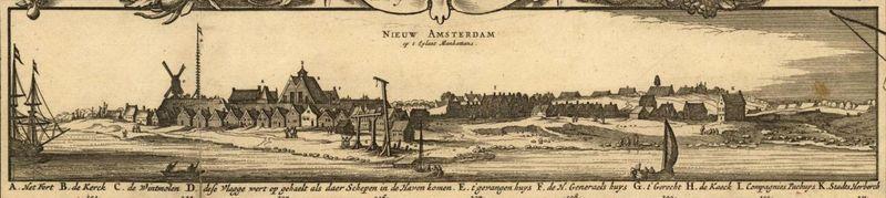 New amsterdam circa 1650