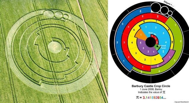 Pi crop circle
