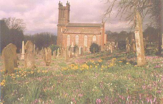 A Country Churchyard
