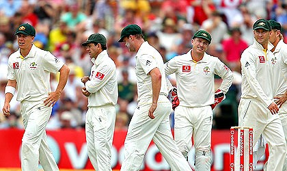 Frustrated aussies
