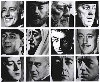 Alec guinness many faces