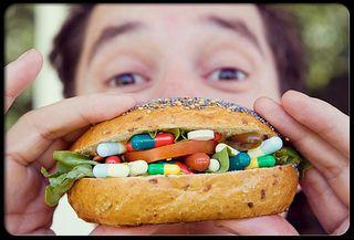 Popping pills
