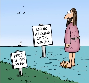 Walkonwatercartoon